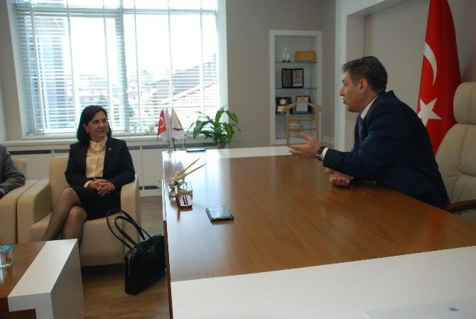 CHP Adayları Baro'yu Ziyaret Etti