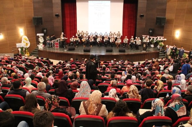 Elazığ'da Samini Tasavvuf Müziği Topluluğu Konser Verdi