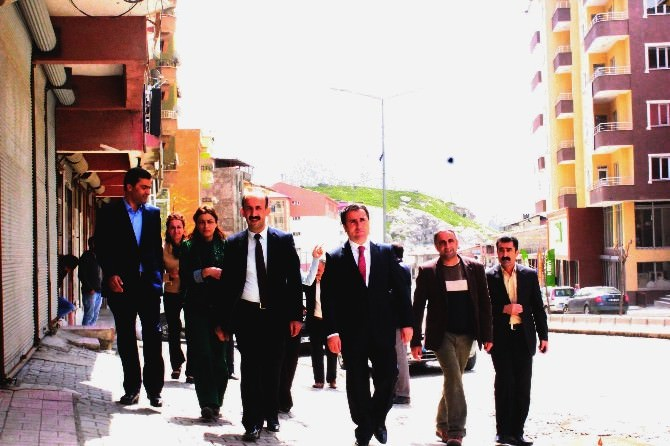 HDP'li Milletvekili Adaylarından Esnaf Ziyareti