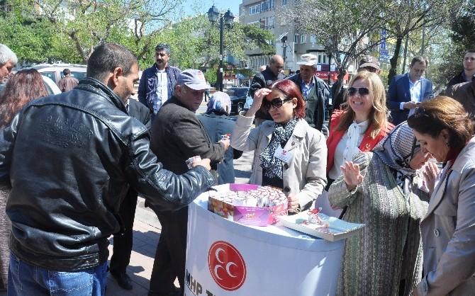 MHP Tekirdağ İl Kadın Kollarından Kutlu Doğum Haftası Programı
