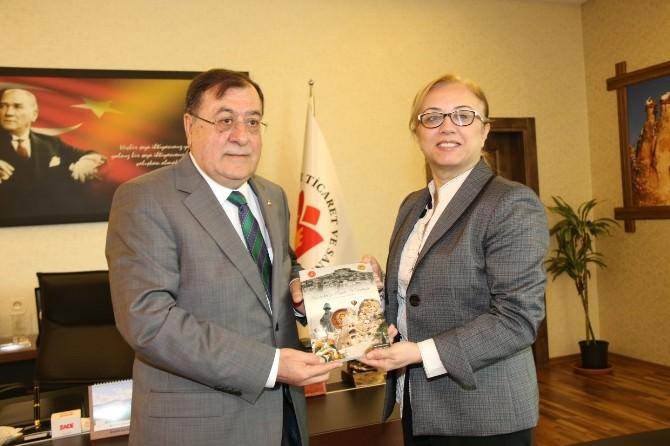 Rektör Kılıç'dan Ntso Başkanı M. Arif Parmaksız'a Teşekkür Ziyareti