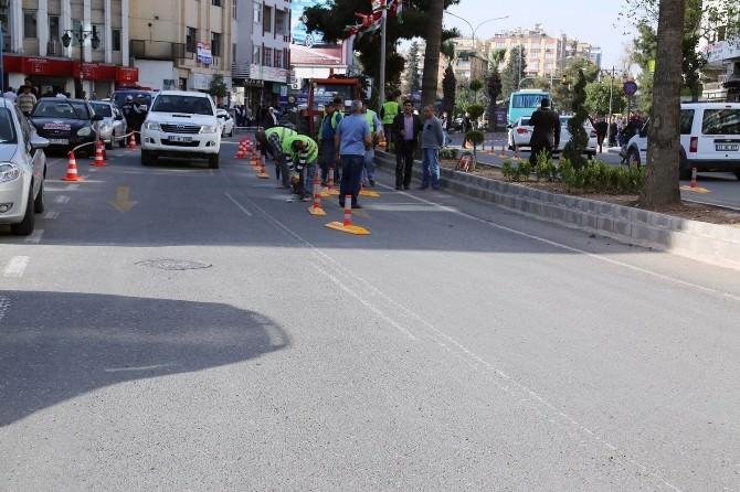 BRT Yolu Çalışmaları Devam Ediyor