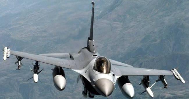 Suriye F-16 uçaklarımızı taciz etti