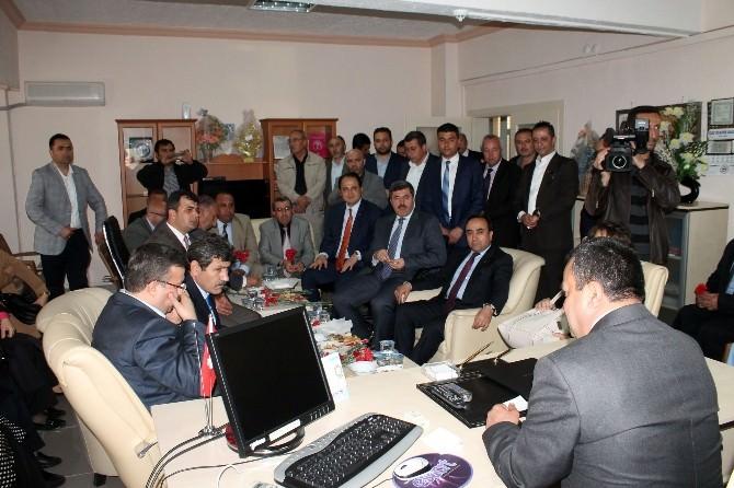 AK Parti Afyonkarahisar İl Teşkilatından Emirdağ Huzurevine Ziyaret