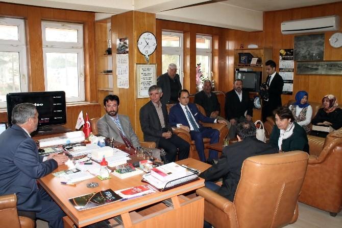 AK Parti İl Yönetiminden İhsaniye İlçesine Ziyaret