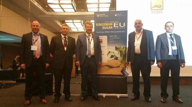 Cenevre'de Kingsmans AB Şeker Konferansına Kayseri Şeker, Üst Düzeyde Katılım Sağlayıp Türk Şeker Sektörü İle İlgili Tebliğ Sundu