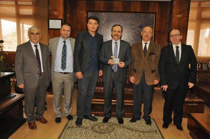 Başkan Şahin'e Çanakkale Gezisi Teşekkürü