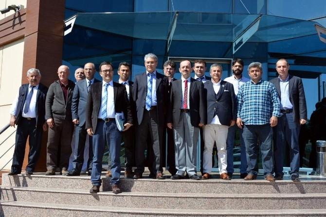 Genel Müdür Mustafa Çalışkan'dan Gemisander Ziyareti
