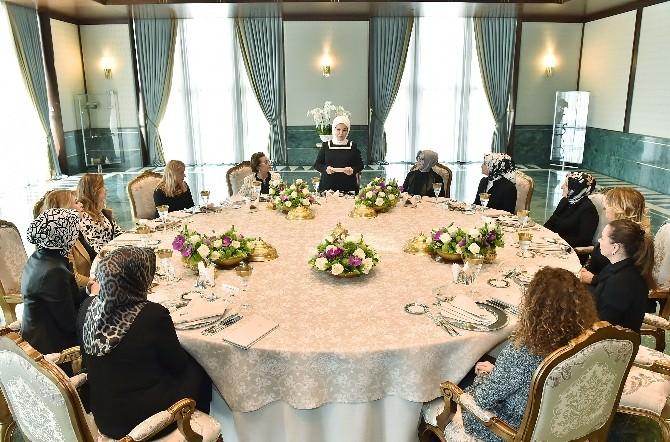 Emine Erdoğan, Togem Üyelerini Kabul Etti
