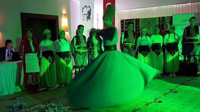 Marmaris'ta Ensar Vakfından Kutlu Doğum Etkinliği