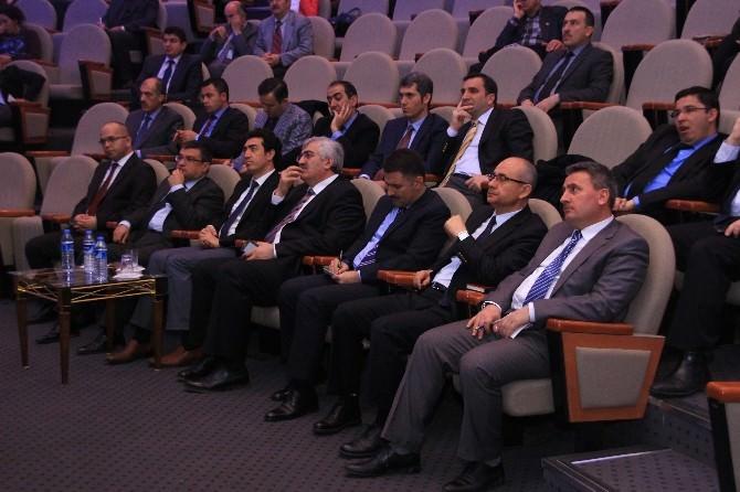 Erzurum Valiliği Proje Koordinasyon Merkezi Tarafından Udyk Toplantısı Düzenlendi