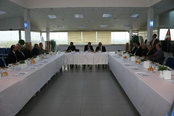 Düzce'de Seçim Güvenliği Toplantısı