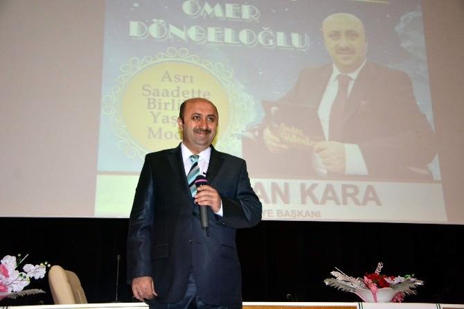 İlahiyatçı Yazar Ömer Döngeloğlu'ndan Konferans