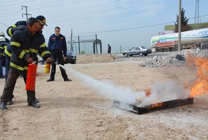 Mardin'de Yangın Tatbikatı