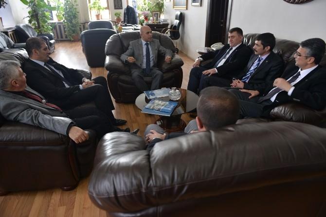MHP Adaylarından Korkut'a Ziyaret