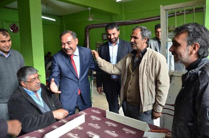 MHP, Arapgir Ve Arguvan'ı Ziyaret Etti