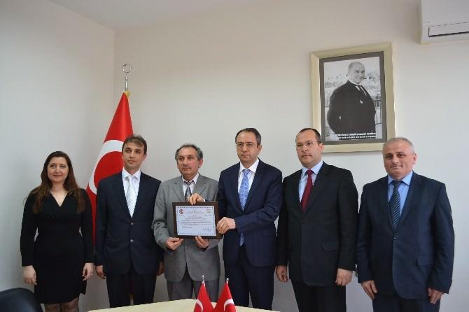 Çerkezköy'de Örnek İş Yerlerine Sertifika Verildi
