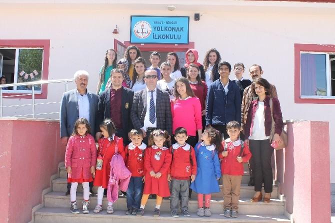Kardeş Okul Seçtikleri İlkokul Öğrencilerini Sevindirdiler