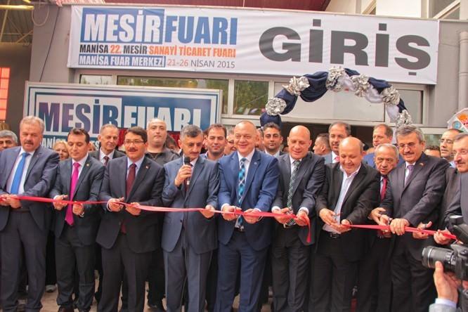 Manisa Mesir Sanayi Ve Ticaret Fuarı Açıldı
