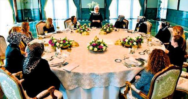 Emine Erdoğan TOGEM'i kabul etti