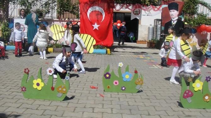 Karacasu Anaokulu 23 Nisan'ı Kutladı