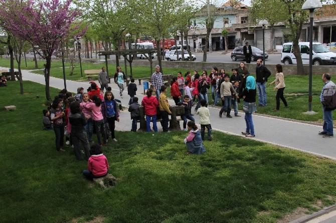 Bağlar Eğitim Destek Evi Kobanili Öğrenciler İçin Kent Gezisi Düzenledi