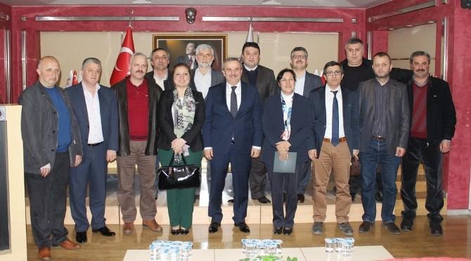 Rektör Adayı Çakar DTSO'yu Ziyaret Etti