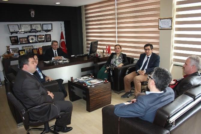 Prof. Dr. Nigar Demircan Çakar, Deskkkop'u Ziyaret Etti