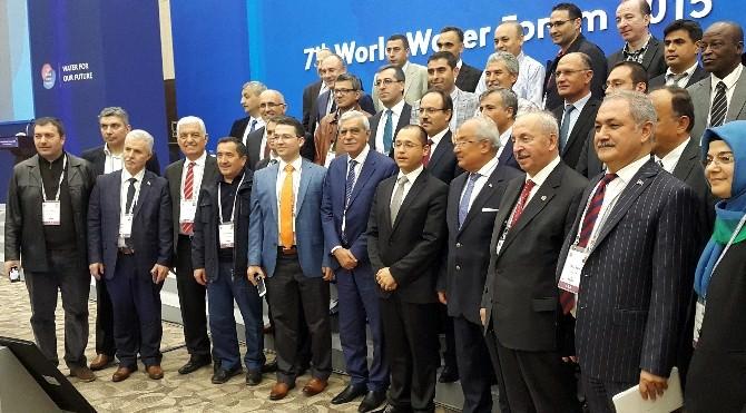 Meski Genel Müdürü Turgut Aybak, Dünya Su Forumu'na Katıldı