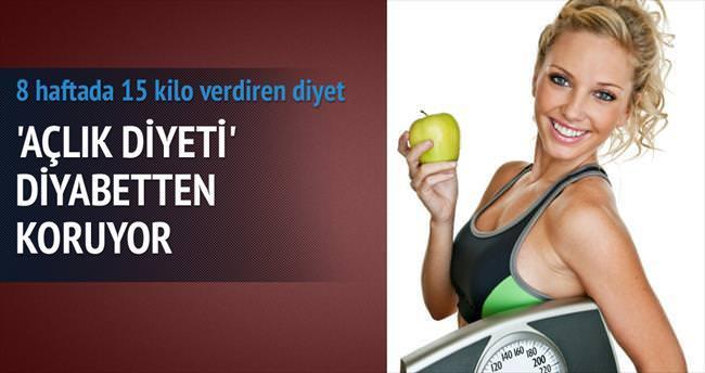Diyabete karşı 'açlık diyeti'