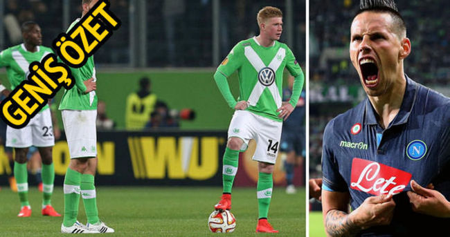 Napoli Wolfsburg — Özeti ve golleri izle