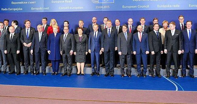 AB liderleri olağanüstü toplandı