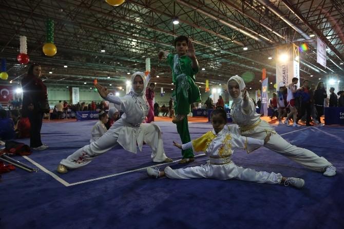 Wushu Şampiyonu Abdullah Yuşa Herkesi Büyüledi