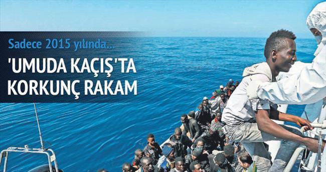 'Ölüm denizi'nde kaçak kurtarma