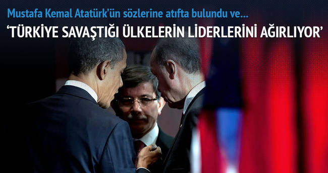 'Türkiye savaştığı ülkelerin liderlerini ağırlıyor'