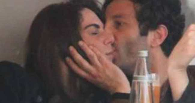 Melisa Mızraklı ve sevgilisinin romantik anları