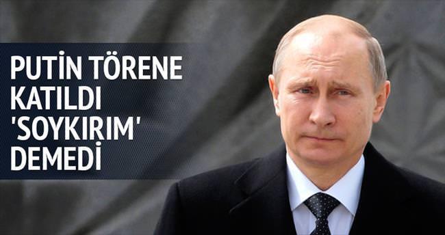 Putin, Erivan'da 'soykırım' demedi