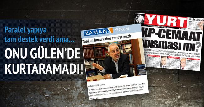 Yurt Gazetesi'ni Fetullah Gülen de kurtaramadı