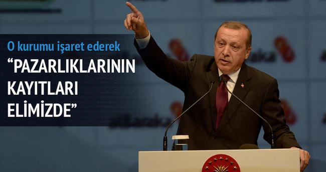 Cumhurbaşkanı Erdoğan İstanbul'da konuştu