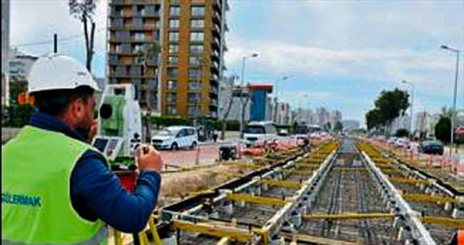 Tramvay start aldı