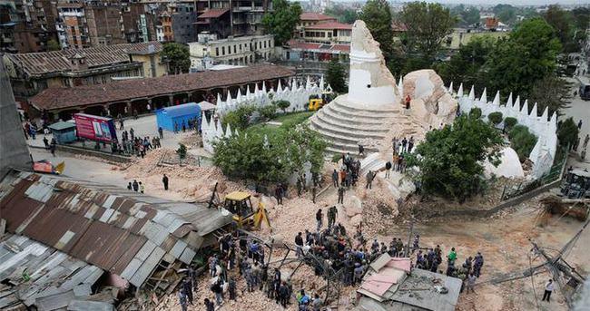 AFAD Nepal'e ulaştı