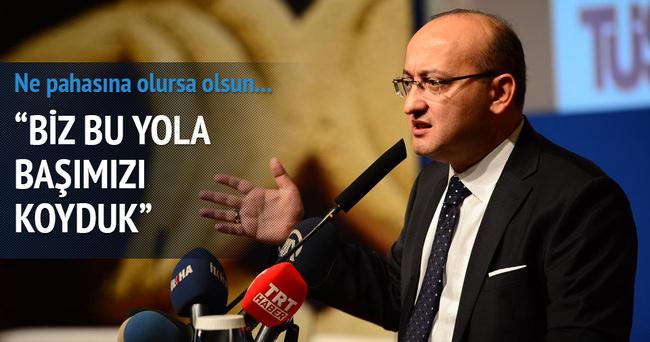 Başbakan Yardımcısı Akdoğan açıklama
