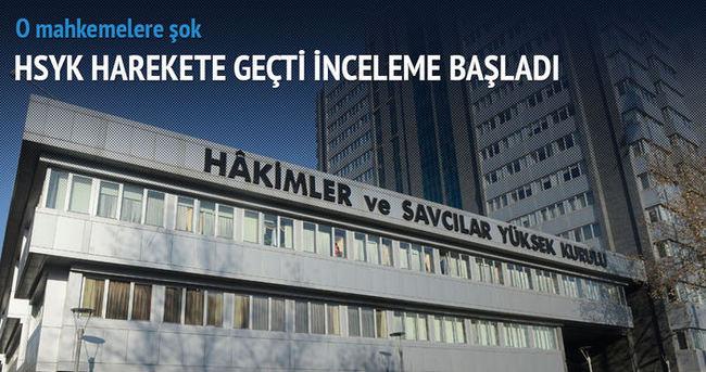 HSYK 29 ve 32. asliye ceza mahkemelerinde inceleme başlattı
