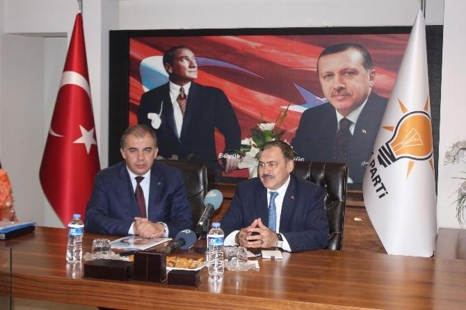 Eroğlu, Göztepe'yi Tebrik Etti