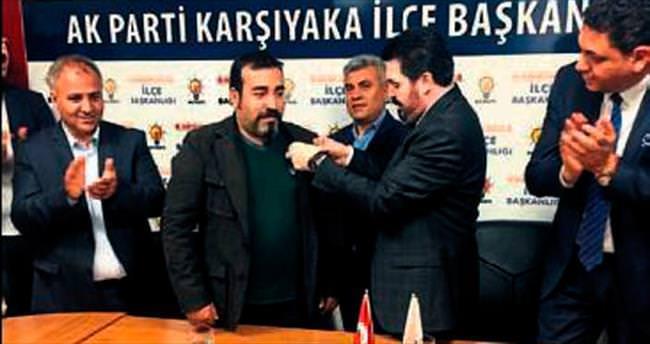 CHP'liler törenle AK Parti'ye geçti
