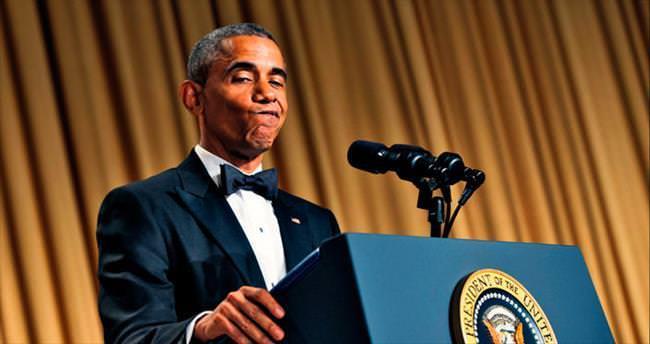 Obama, Beyaz Saray galasını komedi gösterisine çevirdi