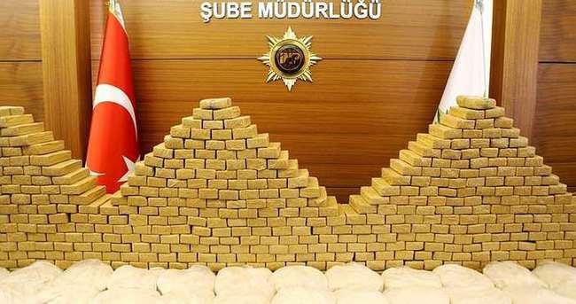 Rezidans banyosunda 358 kg eroin