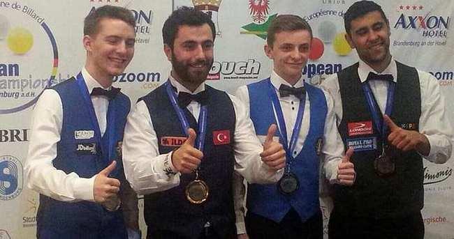 Berkay Karakurt Avrupa Şampiyonu