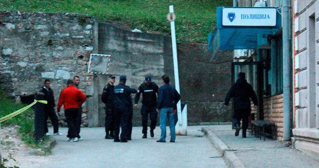 Bosna Hersek'te karakola silahlı saldırı