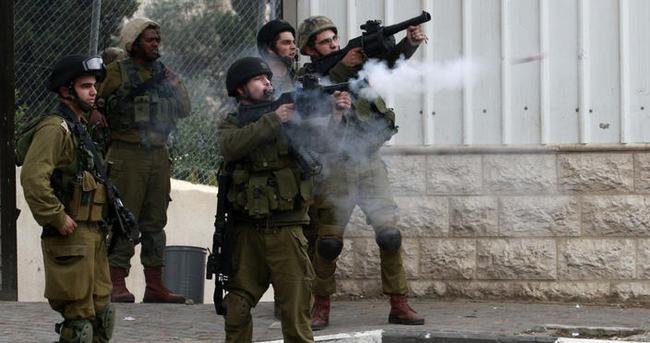 İsrail askerlerinden saldırı